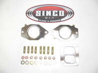2 Rotor T4 Twin scroll - Gasket Stud Locknut Kit