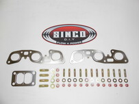 RB26 - T3 Twin - Gasket Stud Locknut Kit