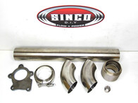 Stainless D.I.Y Downpipe Kit