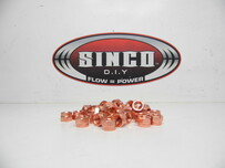 Copper Locknut M10x1.25
