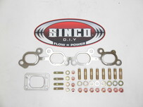 SR20 - T2 - Gasket Stud Locknut Kit (Factory Position)