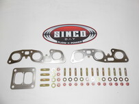 RB26 - T4 Twin - Gasket Stud Locknut Kit