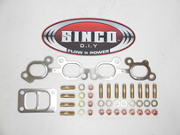 SR20 - T3 Twin - Gasket Stud Locknut Kit