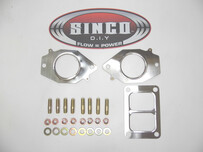 2 Rotor T6 Twin scroll - Gasket Stud Locknut Kit