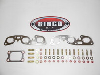 RB26 - T3 - Gasket Stud Locknut Kit